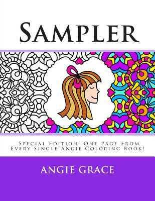 Sampler: One Page from Every Single Angie Coloring Book!