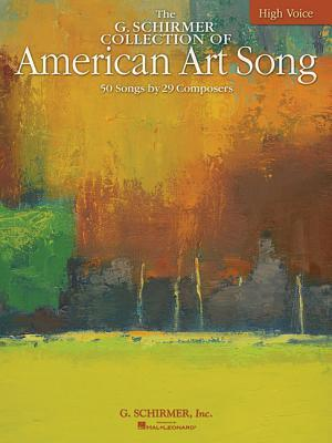 American Art Song - 50 Songs by 28 Composers