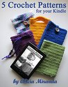5 Crochet Patterns for Kindle Covers