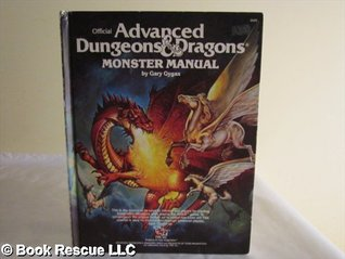 Advanced Dungeons And Dragons Monster Manual by Gary Gygax
