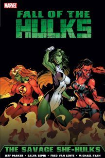 Hulk: Fall of the Hulks - The Savage She-Hulks (Fall of The Hulks)