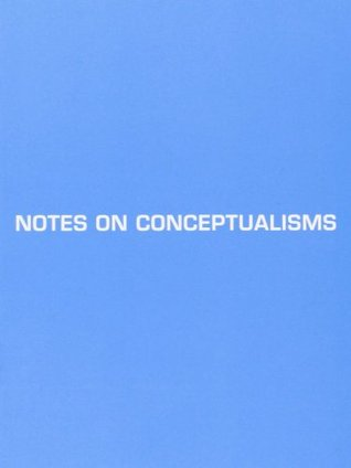 Notes on Conceptualisms by Vanessa Place