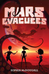 book cover: Mars Evacuees
