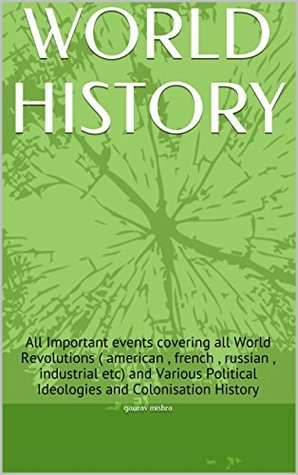 What are some important events in world history?