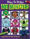 How to Draw 101 Monsters
