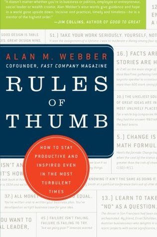 Rules of Thumb by Alan Webber