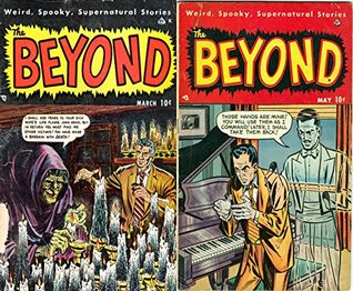The Beyond. Issues 3 and 4. Weird, spooky, supernatural stories. Golden Age Digital Comics