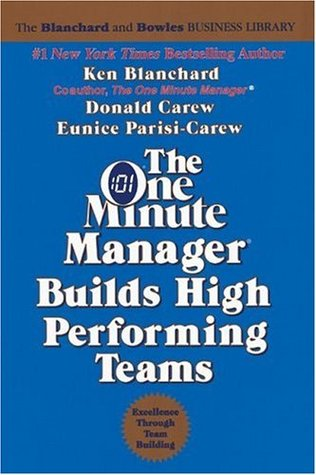 The One Minute Manager Builds High Performing Teams by Kenneth H. Blanchard