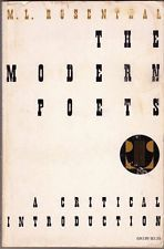 The Modern Poets: A Critical Introduction