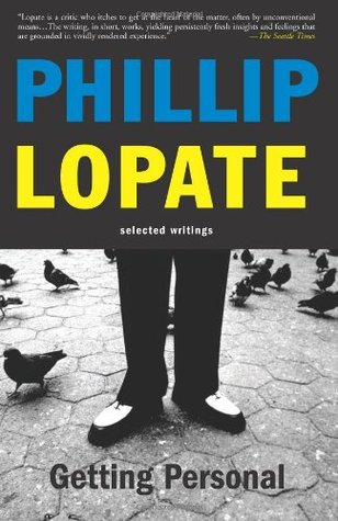 Phillip lopate the art of the personal essay