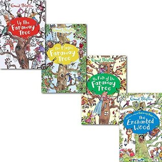 New The Magic Faraway Tree Collection 4 Books Set Pack,(Up The Faraway Tree, The Magic Faraway Tree, The Folk of the Faraway Tree, The Enchanted Wood)