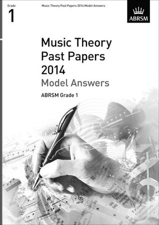Music Theory Past Papers 2014 Model Answers, ANRSM Grade 1 (Theory of Music Exam Papers & Answers