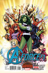 A-Force #1 (A-Force: 2015, #1)