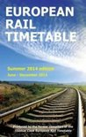 European Rail Timetable 2014: Summer (Rail Guides)