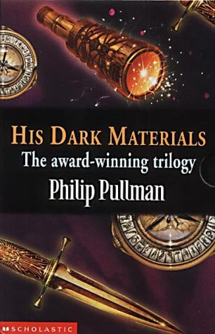 """His Dark Materials Gift Set: """"Northern Lights"""", """"The Subtle Knife"""", """"The Amber Spyglass"""""""