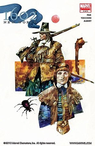 Marvel 1602 #2: New World (Marvel 1602: The New World)
