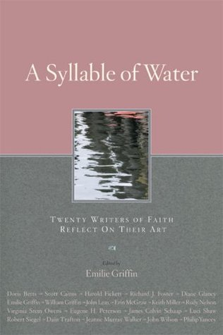 A Syllable of Water by Emilie Griffin