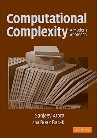 Computational Complexity by Sanjeev Arora