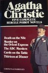 Five Complete Hercule Poirot Novels: ABC Murders / Cards on the Table / Death on the Nile / Murder on the Orient Express / Thirteen at Dinner
