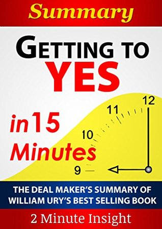 "getting to yes book report ""getting to yes"" is quite possibly one of the best negotiation books you will ever read first published in 1981, the authors founded the first negotiation program at harvard law school and have been successfully teaching their negotiation technique globally i enrolled in a one-day course at my company."