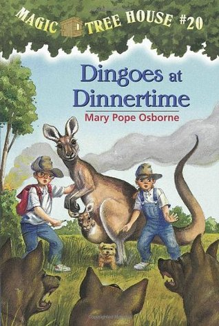 Dingoes at Dinnertime by Mary Pope Osborne