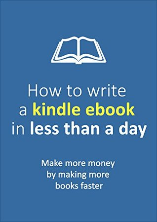 Write an ebook for kindle