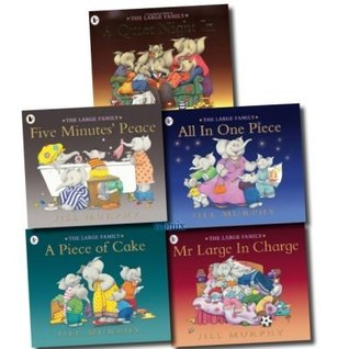 The Large Family 5 Children books Set Collection