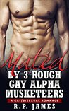 Mated by 3 rough gay alpha musketeers