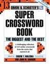 Simon and Schuster Super Crossword Puzzle Book #13: The Biggest and the Best