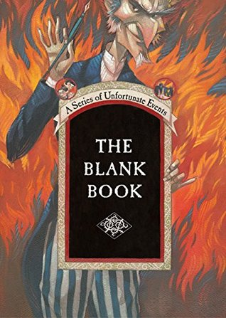 The Blank Book by Lemony Snicket