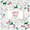 Winter Magic: Beautiful Holiday Patterns Coloring Book for Adults