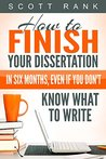 How to Finish You...