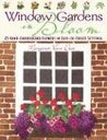Window Gardens in Bloom: 25 Hand-Embroidered Flowers in Easy-To-Create Settings