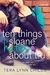 Ten Things Sloane Hates About Tru (Creative Hearts, #1)