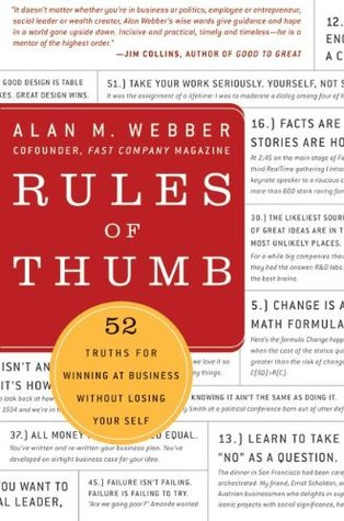 Rules of Thumb by Alan M. Webber