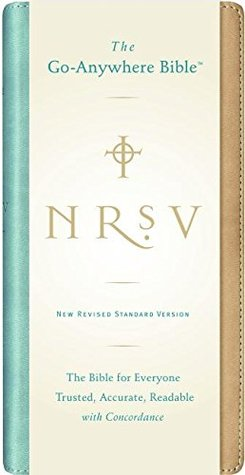 Holy Bible: NRSV Go-Anywhere Bible NuTone (tan/teal)