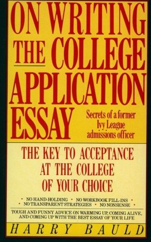290756 - Writing The College Application Essay