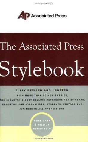 The Associated Press Stylebook and Briefing on Media Law by Associated Press