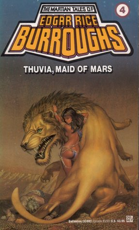 Thuvia, Maid of Mars (Barsoom, #4)
