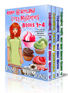 The Annie Graceland Cupcakes Cozy Mystery Series: (Annie Graceland Cozy Mysteries #1-4)