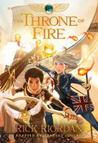The Throne of Fire: The Graphic Novel  (The Kane Chronicles: The Graphic Novels, #2)