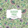 Blossom Magic: Beautiful Floral Patterns Coloring Book for Adults
