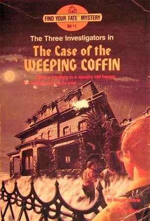 The Case of the Weeping Coffin (The Three Investigators: Find Your Fate #1)