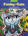 Funky Cats Coloring Book