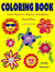 Coloring Book with Flowers, Hearts, Rainbows, Butterflies, an... by Jenny  Pearson