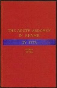 The Diagnosis Of The Acute Abdomen In Rhyme