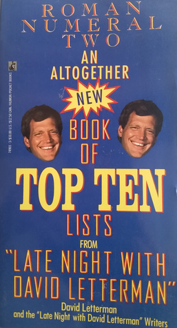 An Altogether New Book of Top Ten Lists from Late Night With ... by David Letterman