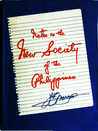 Notes on the New Society of the Philippines