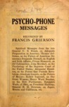 Psycho-Phone Messages