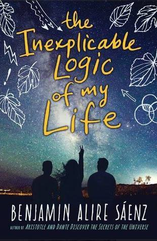 Bildresultat för The Inexplicable Logic of My Life by Benjamin Alire Sáenz